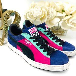 Bright Color Block Puma Sneaker